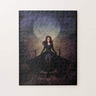 Moonlit Raven Jigsaw Puzzle