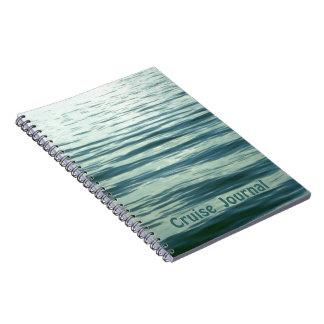 Moonlit Sea Spiral Notebooks