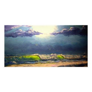 Moonlit Seascape Card