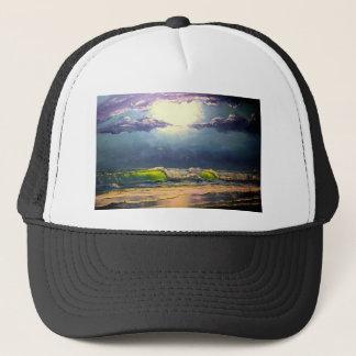 Moonlit Seascape Trucker Hat
