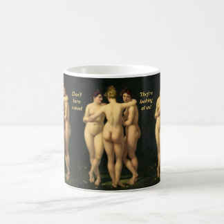 Moonlit Trio Glow Buoyantly on Teignmouth Beach... Coffee Mug