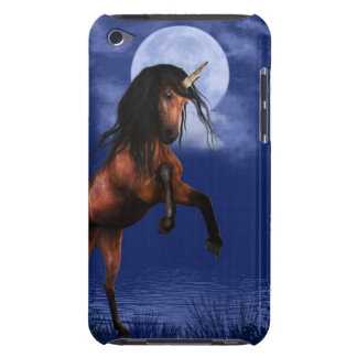 Moonlit Unicorn Barely There iPod Cases