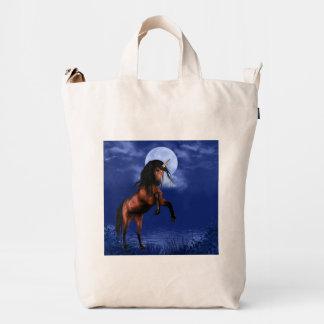 Moonlit Unicorn Duck Bag