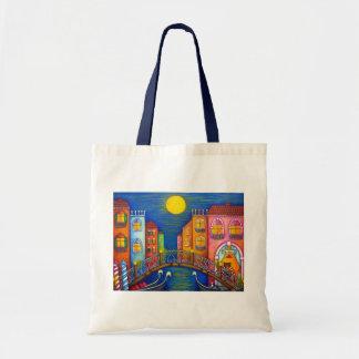 Moonlit Venice Tote Bag