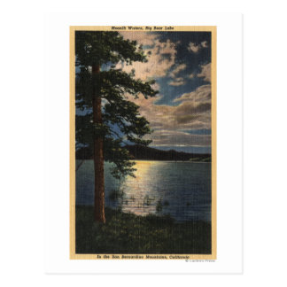 Moonlit View of the Lake Postcard