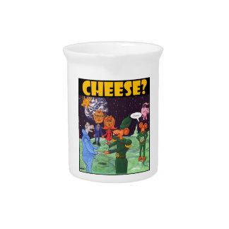 Moonrats da el queso jarra