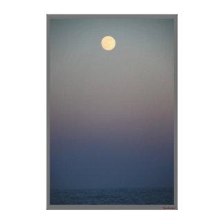 Moonrise #4711 Canvas