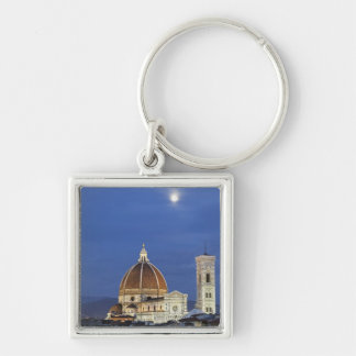 Moonrise and Florence Cathedral, Basilica di Keychain
