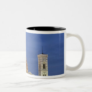 Moonrise and Florence Cathedral, Basilica di Two-Tone Coffee Mug