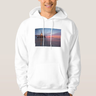 Moonrise And Sunset Hoodie