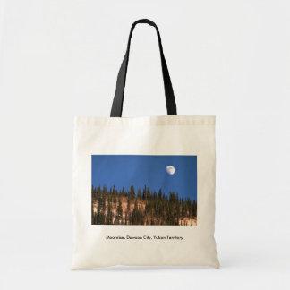 Moonrise, Dawson City, Yukon Territory Canvas Bag