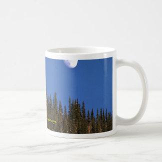 Moonrise, Dawson City, Yukon Territory Classic White Coffee Mug