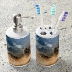 Moonrise Howl Soap Dispenser & Toothbrush Holder