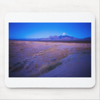 Moonrise in the Mojave Mouse Pad