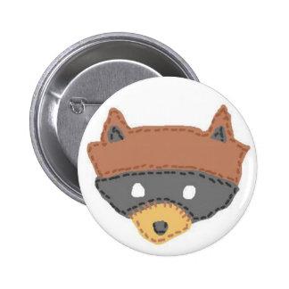 Moonrise Kingdom Khaki Scout Badge Button