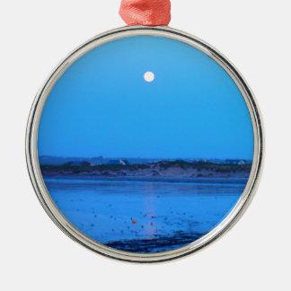 Moonrise Metal Ornament