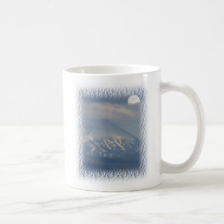 Moonrise over Mnt. Mc Laughlin Oregon Coffee Mug