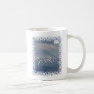 Moonrise over Mnt. Mc Laughlin Oregon Classic White Coffee Mug