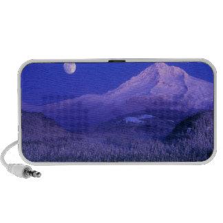 Moonrise over Mt Hood winter, Oregon Speaker System