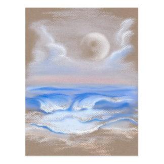 Moonrise over Myrtle Beach Postcard