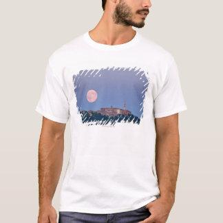 Moonrise over Pienza T-Shirt