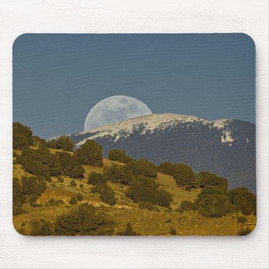 Moonrise over the Sangre de Cristo Mountains, Mouse Pad