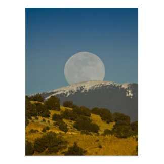 Moonrise over the Sangre de Cristo Mountains, Post Cards