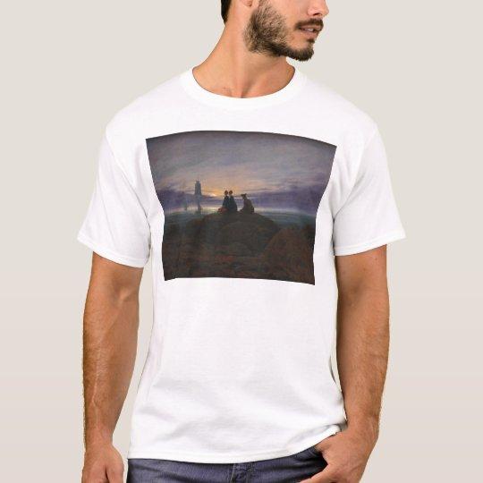 Moonrise Over the Sea T-Shirt
