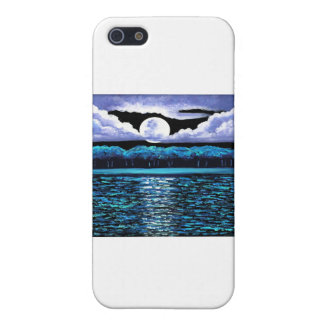 Moonrise over Wingaersheek 2 Cover For iPhone 5