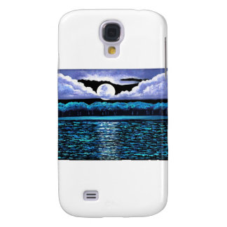Moonrise over Wingaersheek 2 Galaxy S4 Cover