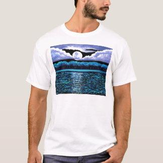 Moonrise over Wingaersheek 2 T-Shirt