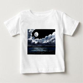Moonrise Over Wingaersheek Beach Baby T-Shirt