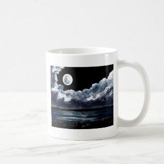 Moonrise Over Wingaersheek Beach Classic White Coffee Mug