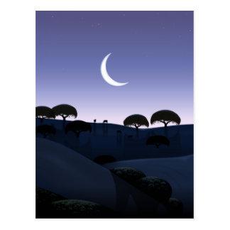 Moonrise Postcard