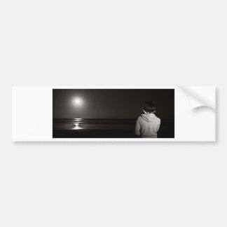 Moonrise Spectacular Car Bumper Sticker
