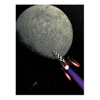 Moonrocket 56 postcard