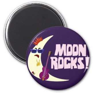 MoonRocks Refrigerator Magnet