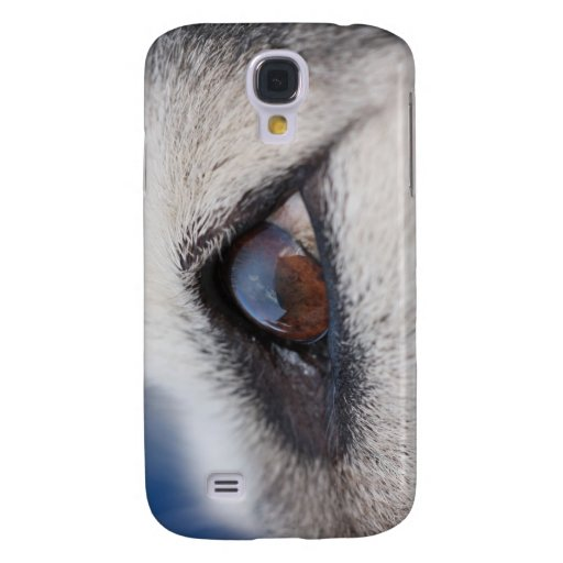 Moon's Reflection on Dog's Eye Galaxy S4 Cover
