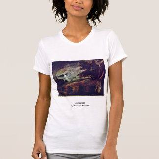 Moonscape By Brouwer Adriaen T Shirts