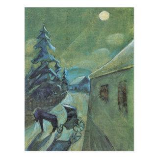 Moonscape con el caballo de Gualterio Gramatte Postales