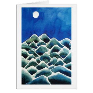 Moonscape I Tarjeta De Felicitación