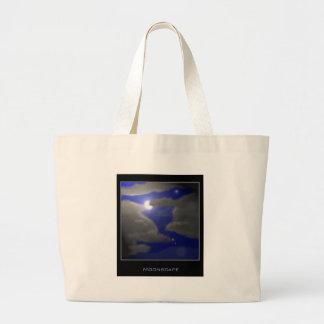 Moonscape Jumbo Tote Bag
