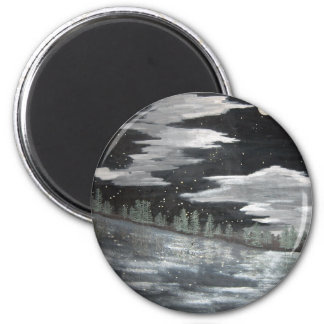 moonscape refrigerator magnets