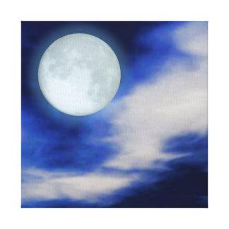Moonscape print canvas print