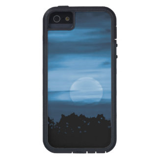 Moonscape Silhouette Ilustration Case For iPhone SE/5/5s