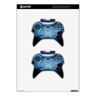 Moonscape Silhouette Ilustration Print Xbox 360 Controller Skins