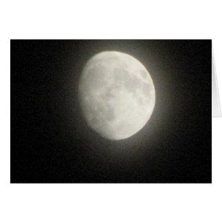 Moonscape Tarjeta Pequeña