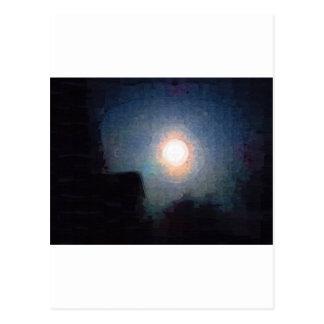 Moonscape Tarjeta Postal