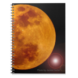 Moonscapes Spiral Note Book