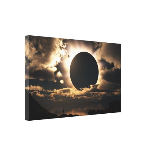 """""""Moonshadow"""" Wrapped Canvas Gallery Wrapped Canvas"""
